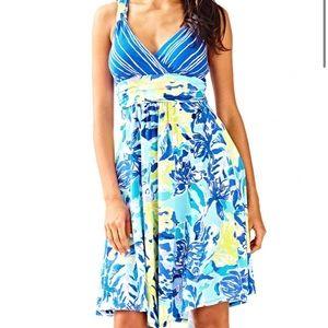 Lilly Pulitzer Hadley Ylang Ylang Dress Size XS